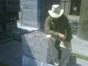 Ed in Toronto's Ireland Park